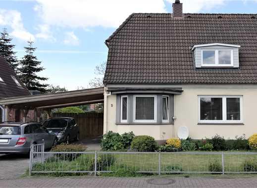 Doppelhaushälfte auf Eigenland in ruhiger, zentraler Lage in Büsum