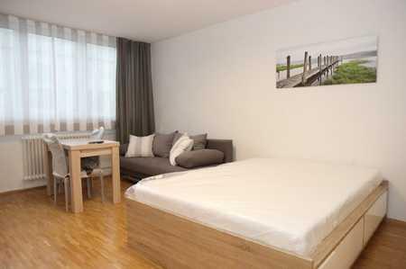 Komplett möbliertes Appartement an der Schwanthaler Höhe/Westend in Schwanthalerhöhe (München)