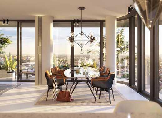 Spektakuläres 3-Zimmer-Penthouse auf ca. 184 m² mit Ausblicke über die berühmte Frankfurter Skyline