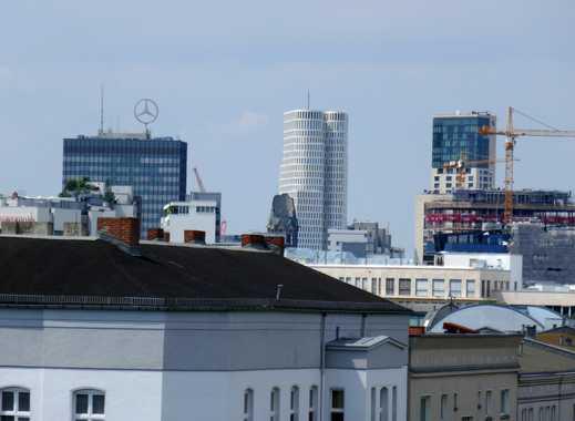 Ihr Ausblick in Richtung Zoo - Schönes 3-Zimmer-Penthouse mit riesiger Dachterrasse
