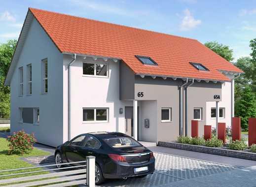 Moderne Doppelhaushälfte inkl. Grundstück