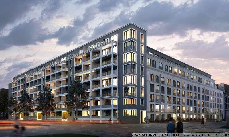 * EINZELBESICHTIGUNG * Exklusive 4-Zi.-Neubau-Whg. mit 2 Balkonen und Einbauküche in