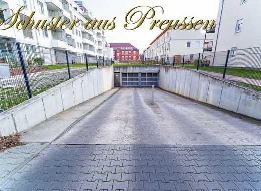 Schuster aus Preussen - Berlin-Britz - heller und gut befahrbarer Tiefgaragenstellplatz in der Ha...