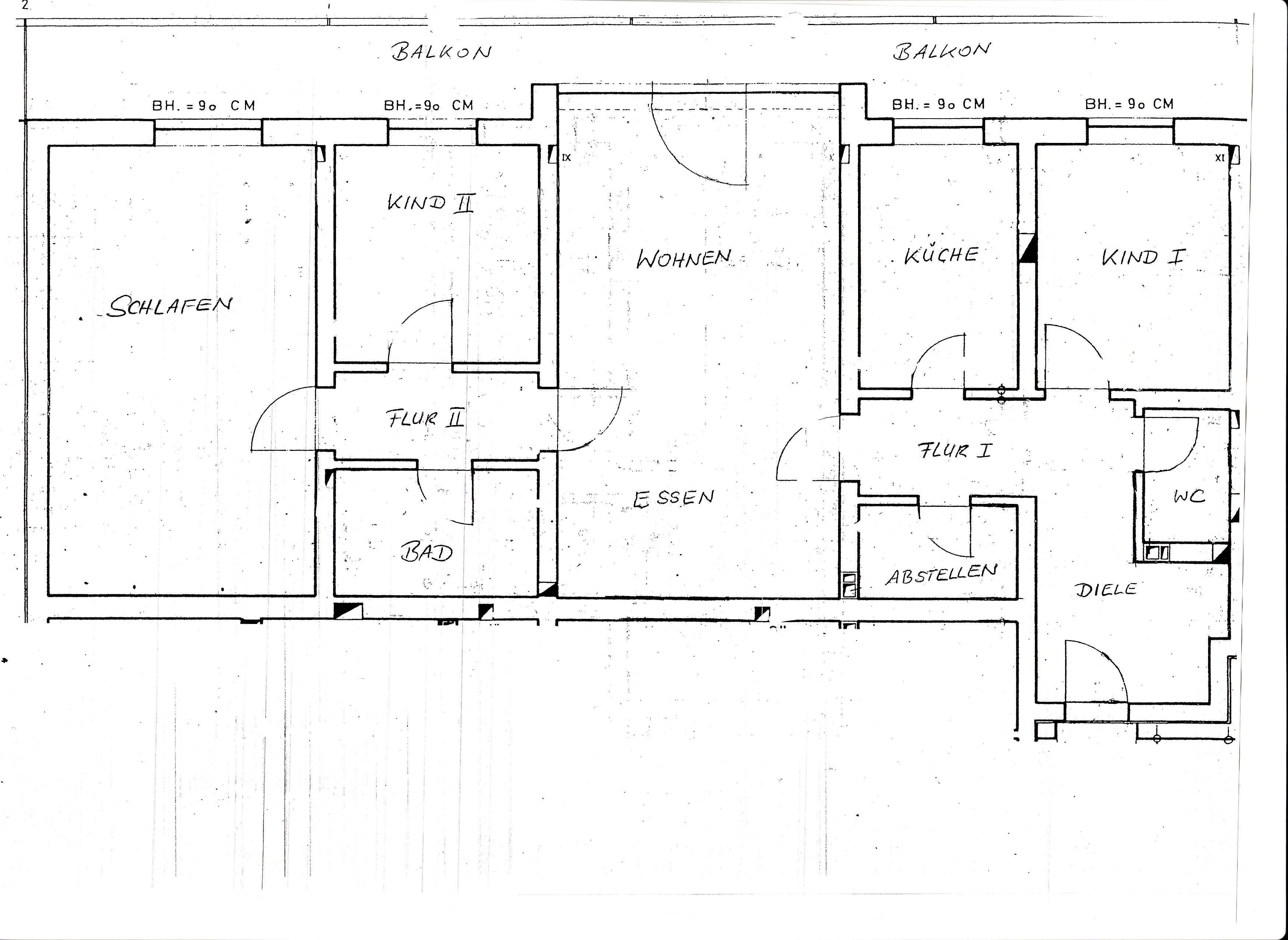 Sonnige 4-Zimmer Wohnung  in Deggendorf in