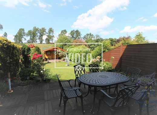 Schmuckstück in Dinslaken-Averbruch! Schickes Reihenmittelhaus mit unverbautem Blick vom Garten!