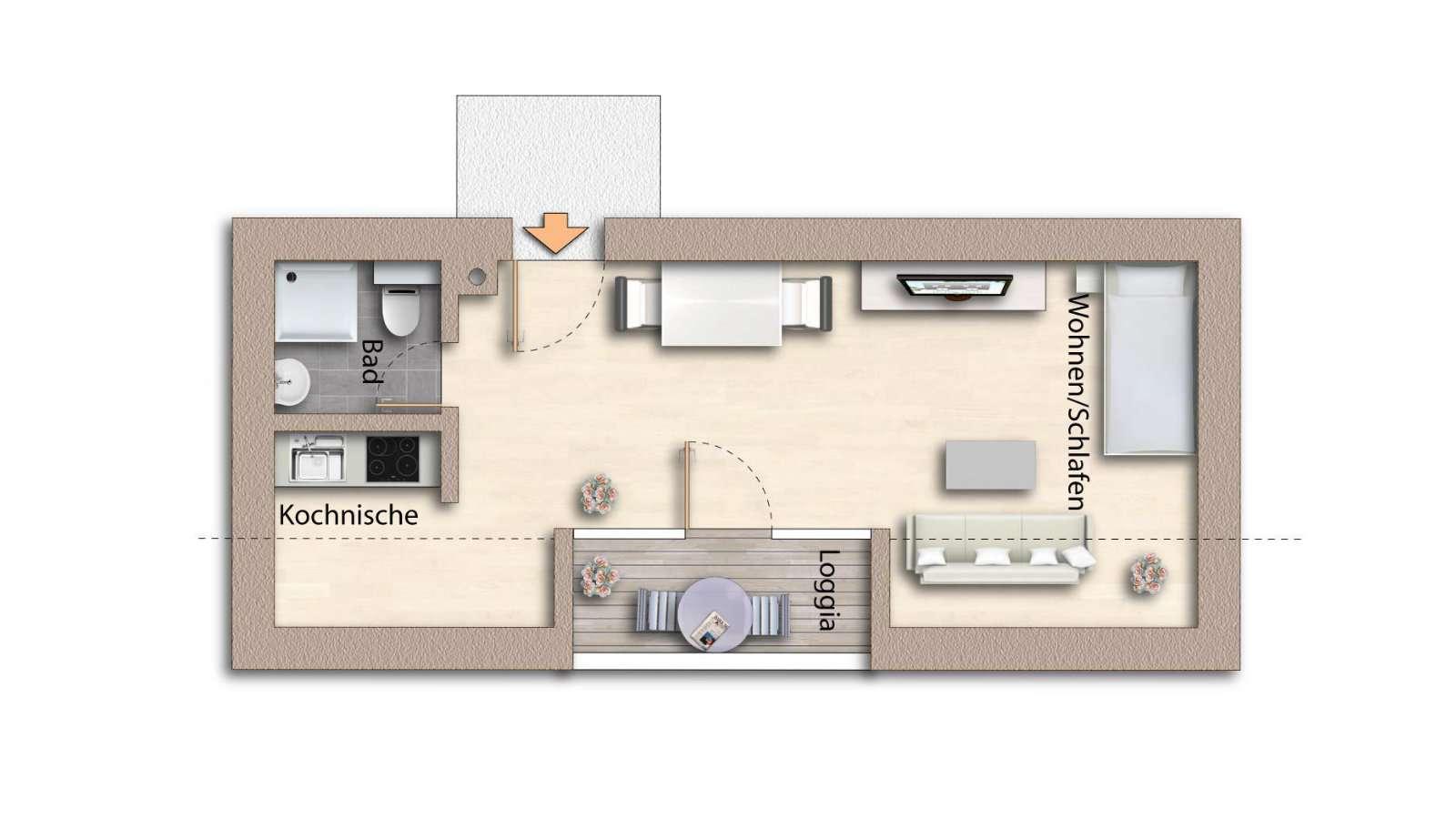 Schöne Wohnung in Stadtamhof ! in Stadtamhof (Regensburg)