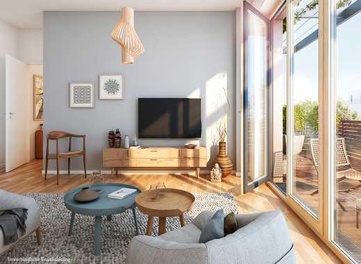 Zukunftsorientierte 3-Zimmer-Wohnung mit ca. 13 m² Terrasse in bevorzugter Lage