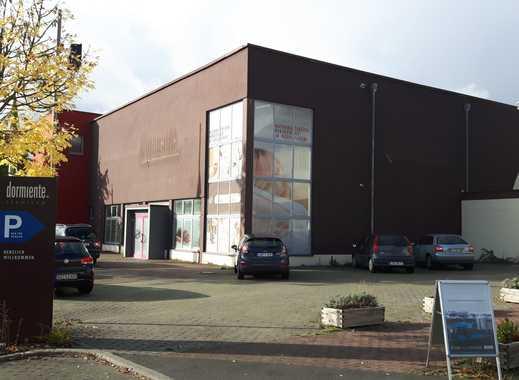 800 m² Einzelhandel + 1180 m² beheiztes Lager / Produktiosfläche + 213 m² Büros