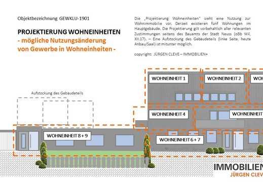 MFH MIT GEWERBE + BELIEBTE LAGE + 926 M² WOHN-NUTZ-FLÄCHE + DIV. ERWEITERUNGS-/UMBAUPOTENTIALE