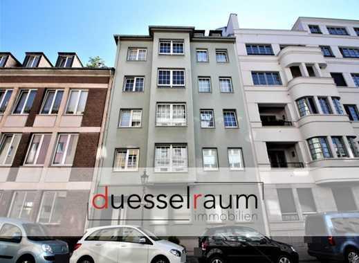 Pempelfort: gut geschnittene 2 bzw. 3 Zimmer ETW mit riesiger Dachterrasse und Balkon