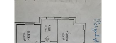 Gepflegte 3-Raum-EG-Wohnung mit Loggia in Minden - Dankersen