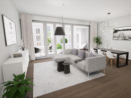 Visualisierung Wohn-Essbereich