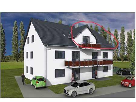 Erstbezug: attraktive 2,5-Zimmer-Wohnung mit großem Balkon in Gundihausen in Vilsheim