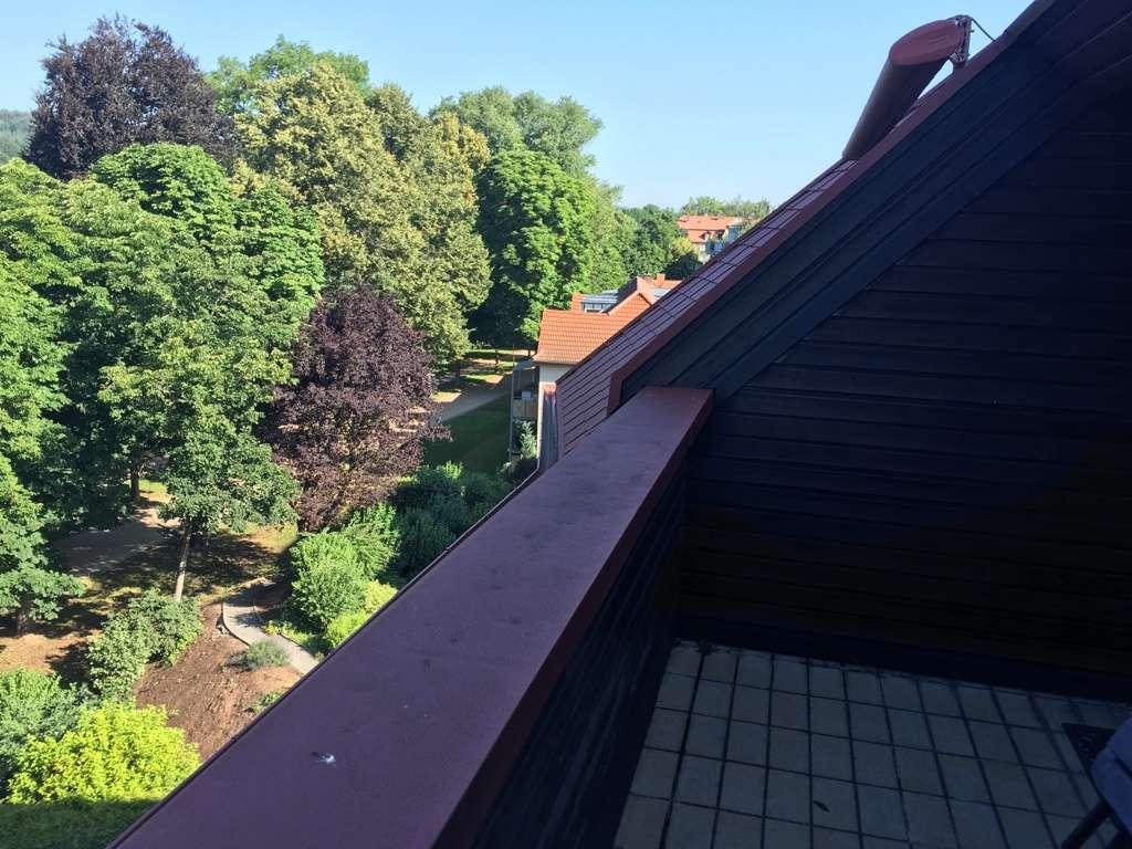 Schnuckelige 1-Zimmer-Wohnung mit Blick auf den Park in Bad Kissingen