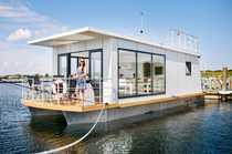 Hausboot - Schwimmendes Ferienhaus für Selbstnutzer