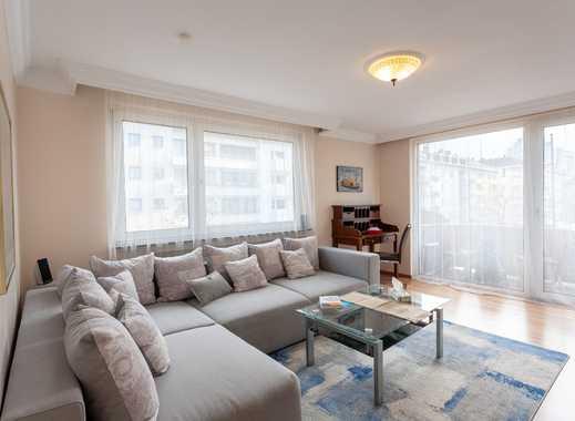 möbliertes 2-Zimmer Business-Apartment mit 1 Schlafzimmer im schönen Frankfurter Westend-Nord