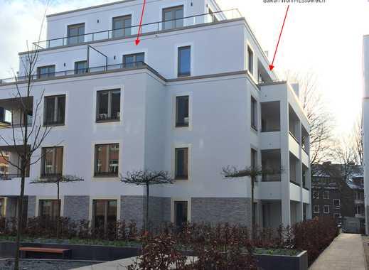 3-Zi.-Wohnung zur Miete, 90qm, Erstbezug in Eppendorf, befr. 2J
