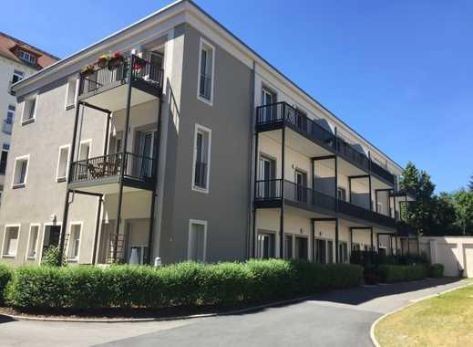 Tolle 2-Raum-Wohnung mit Balkon, FB-Heizung, Keller, PKW-Stellplatz in Top-Zentrumslage
