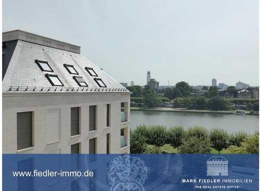 Traumhafte Aussichten (mit Main und Skylineblick)! 4-Zimmerwohnetage mit 2 großen Balkonen