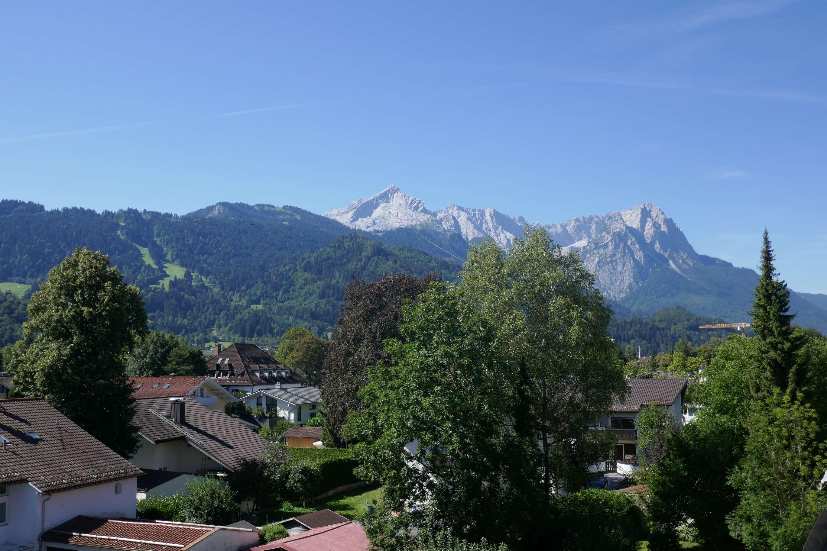 Schöne, große Maisonette-Wohnung in Ortszentrum von Garmisch-Partenkirchen in