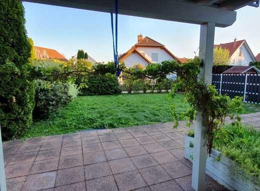 Schöne 2 ZKB-Wohnung mit großer Terrasse und Garten in MZ-Hechtsheim
