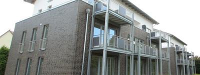 Stilvolle Erdgeschosswohnungen 1 und  2 ZKB in der neuen Wohnanlage Stiftsallee 89
