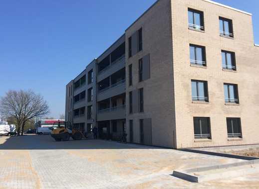 Erstbezug: moderne 2-Zimmer-Erdgeschosswohnung mit EBK und Balkonterrasse in Heide