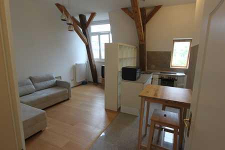 Möblierte 2-Zimmer-Dachgeschosswohnung mit EBK in Erlangen in Erlangen Süd (Erlangen)