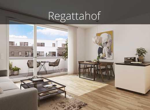 Glücklich wohnen: 2-Zimmer-Eigentumswohnung im Neubau mit Balkon & ganz viel Grün!