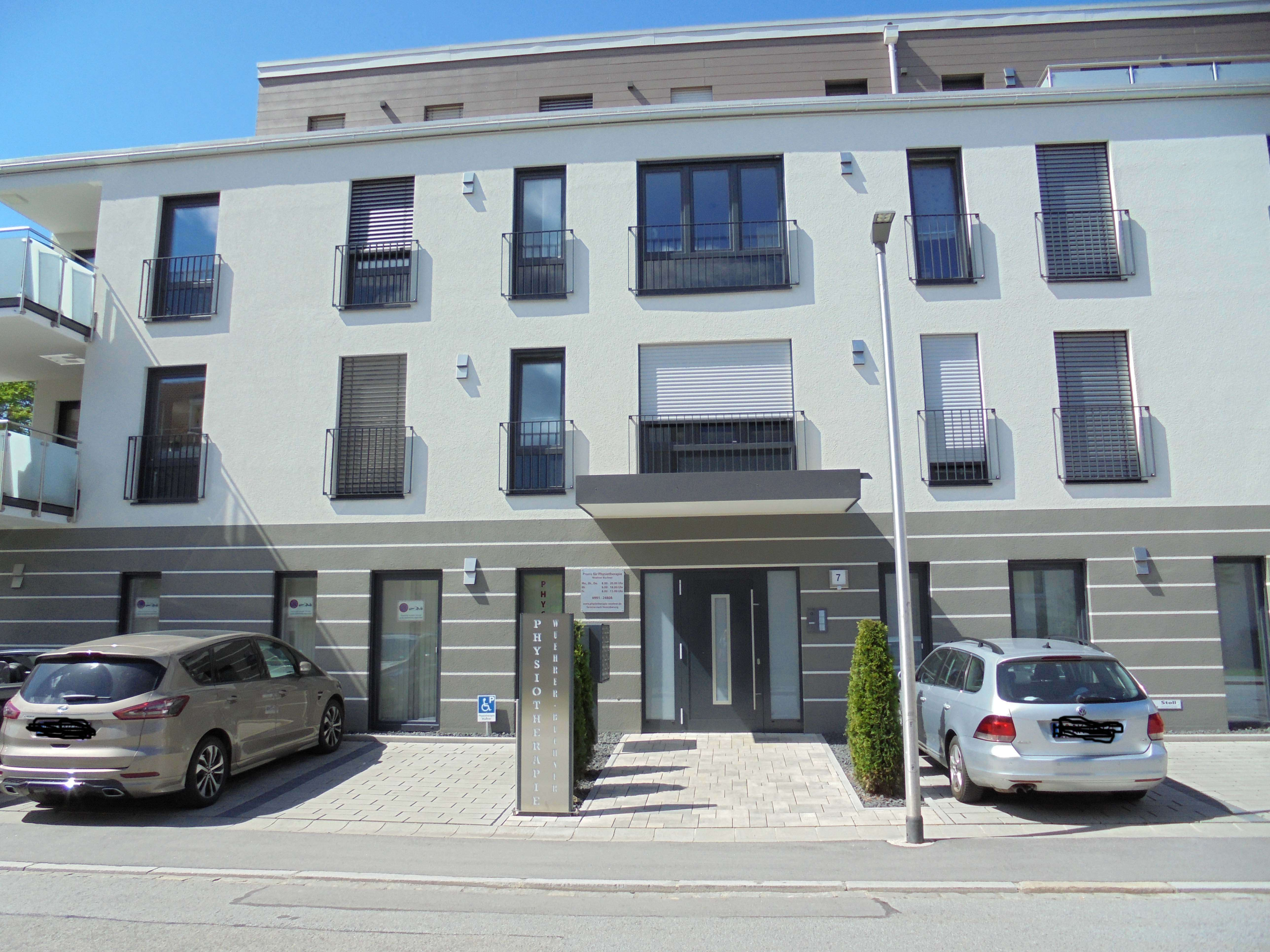 Neue 3-Zimmer-Wohnung mit Balkon in Deggendorf in