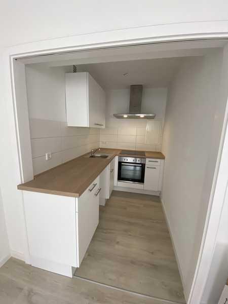 Großzügiges u. komplett saniertes 1 ZKB Appartement inkl. EBK in Top City- Lage in Augsburg-Innenstadt