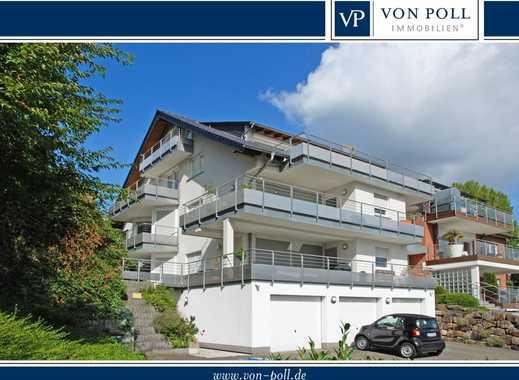 Junge Galerie-Wohnung mit großer Terrasse und mit Blick ins Ruhrtal in Hattingen-Winz-Baak