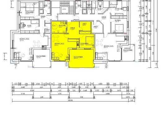 Erstbezug: schöne 3-Zimmer-Terrassenwohnung bzw. 2-Zimmerwohnung in Bolanden