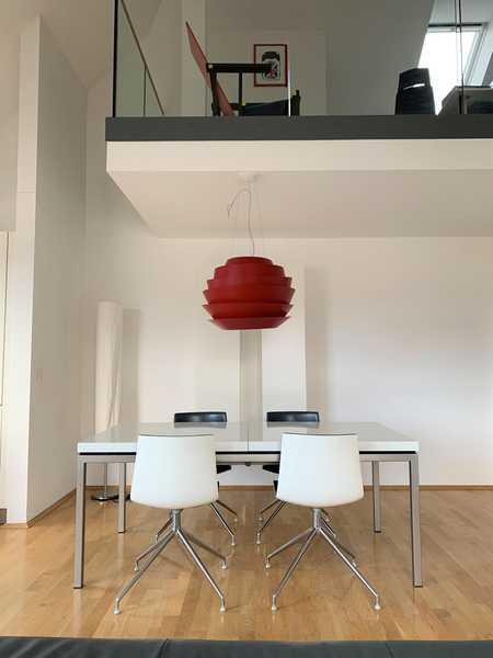 Helle 3,5 Zimmer-Maisonette-Wohnung nahe Luitpoldpark in Milbertshofen (München)