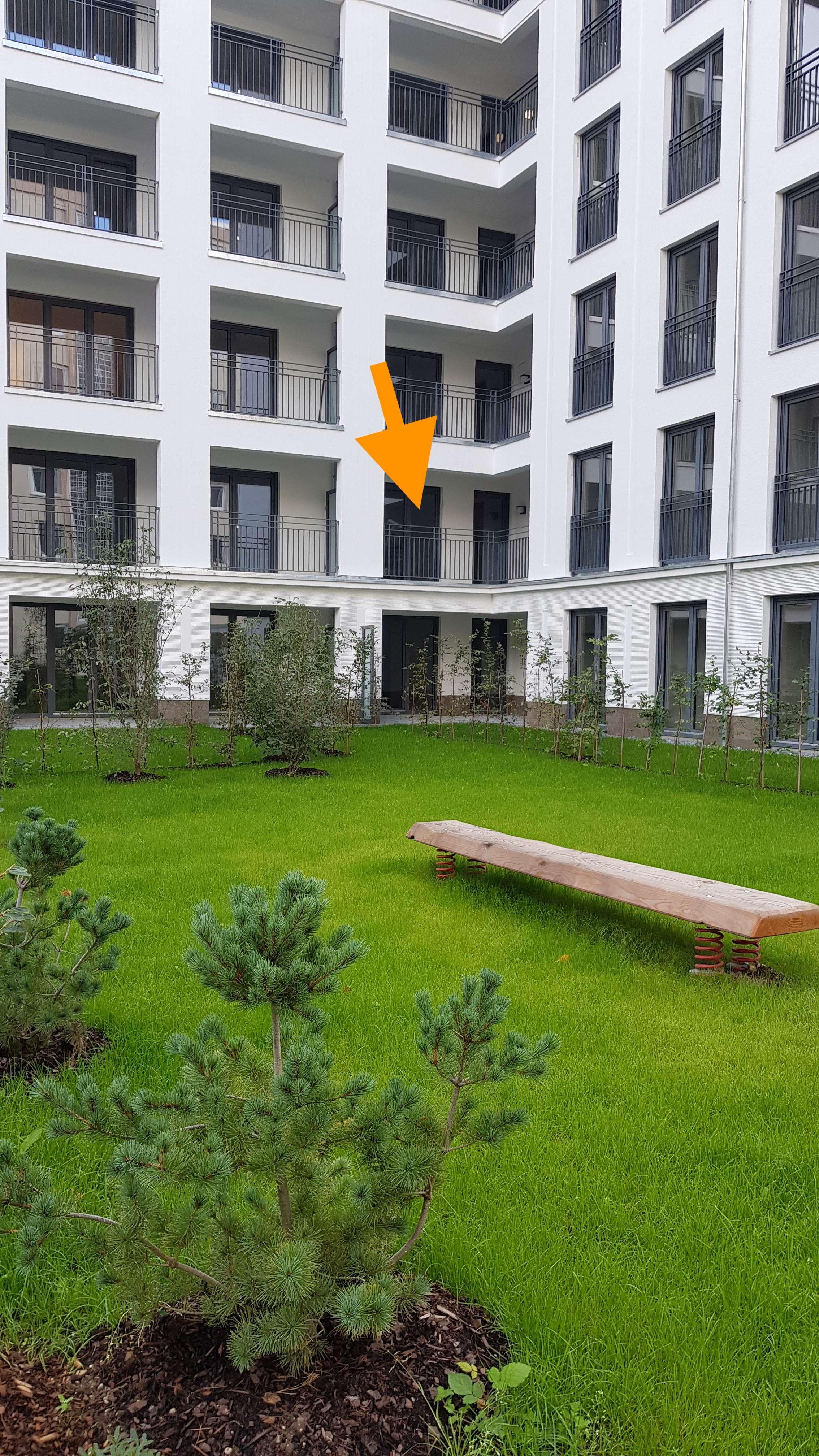 3-Z Neubauwohnung mit EB-Küche, Loggia, Gäste WC, Tiefgarage, Keller