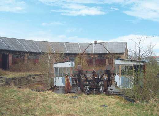Teil eines ehemaligen Bahnbetriebswerkes - leer stehend
