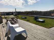 Penthouse Oase mit riesiger Dachterrasse
