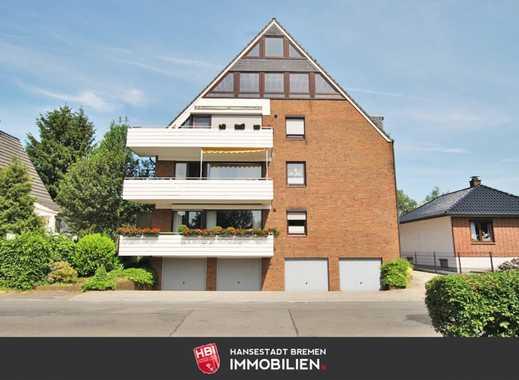 Burg Grambke / Kapitalanlage: 1-Zimmer-Appartment in ruhiger Lage mit Blick ins Grüne