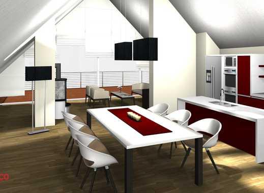 NEUBAU I 4-Zimmer-Dachgeschoss-Wohnung I große Loggia I unverbauter Blick ins Grüne