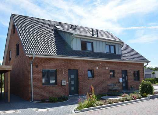 Neubau eines Doppelhauses in Hitzhusen
