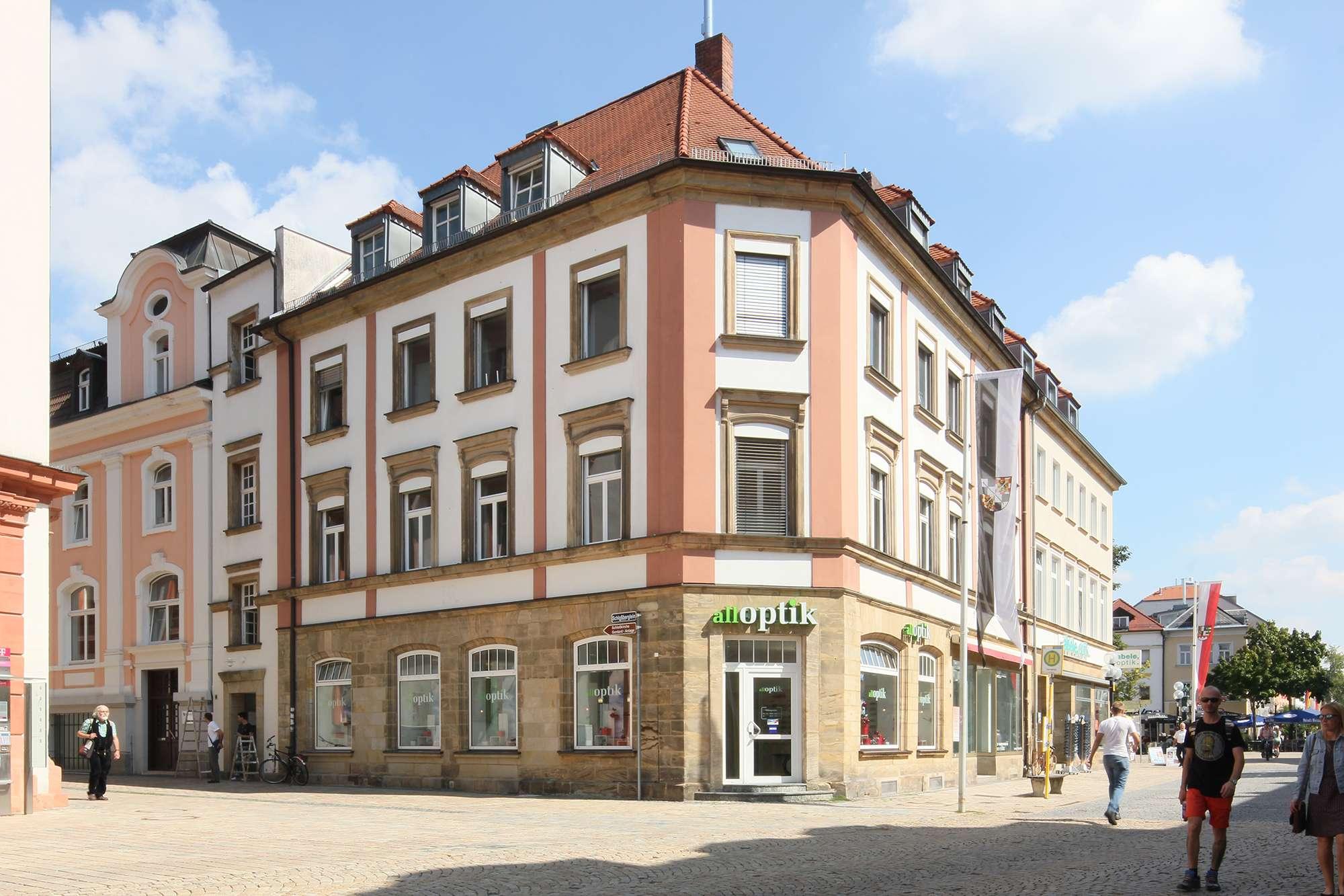 Kernsanierte 2-Zimmer-WG-Citywohnung mit hochwertiger Ausstattung, Bestlage direkt am Marktplatz! in