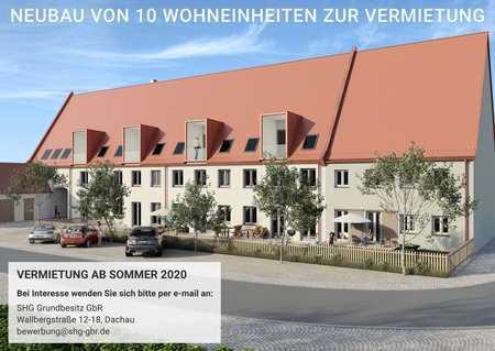 NEUBAU: Stilvolle 4-Zimmer-Terrassenwohnung im Zentrum von Altomünster! in Altomünster