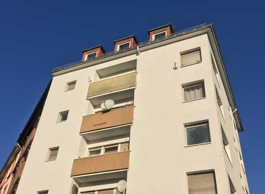 NEU *Renovierte 1-Zimmer-Wohnung*Pantryküche*Toplage Sachsenhausen*Rollläden