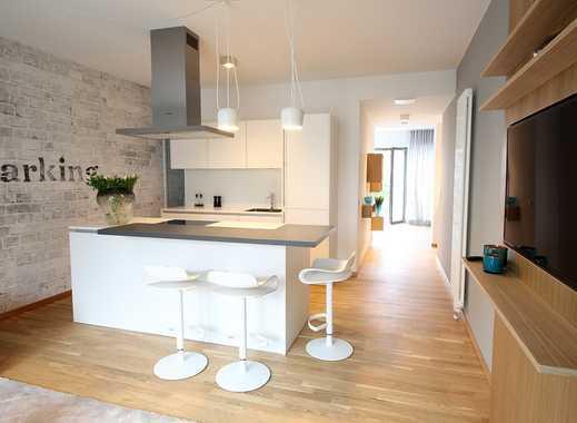 Premium Wohnen: Design-möblierter Neubau mit 2 Terrassen und Vollausstattung
