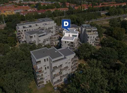 Luxuriöse 4-Zimmer-Penthouse-Wohnung mit großer Terrasse in grüner Lage der Wuhlheide