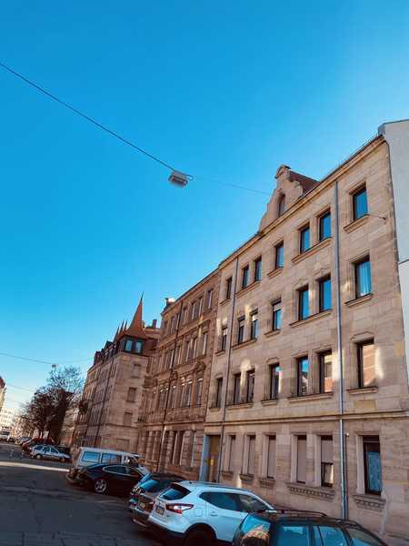 Traumhafte 2-Zi.-Whg. / kernsaniert / Erstbezug / Jugendstilgebäude / ab sofort! in Sündersbühl (Nürnberg)