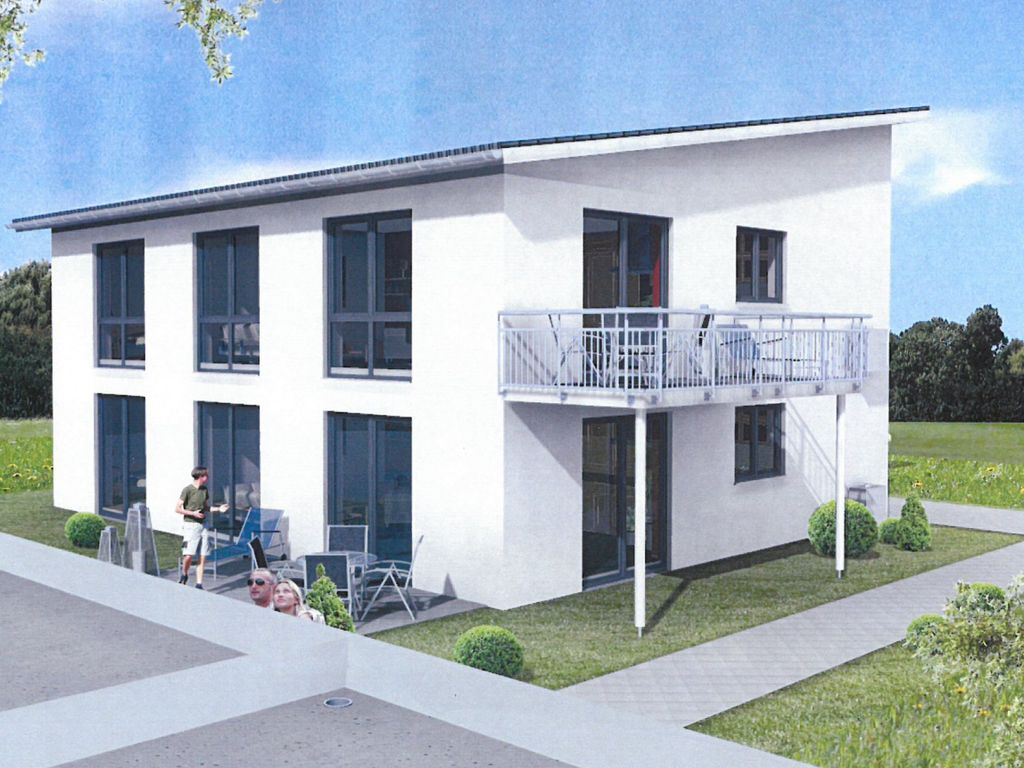 Neubau dachgeschoss wohnung in 2 familienhaus neubau for 2 familienhaus mieten