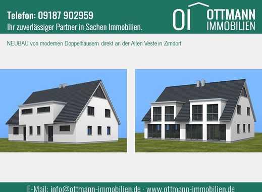 Leben Sie Ihren persönlichen Traum - Ihre Doppelhaushälfte in Zirndorf , Mittelfr