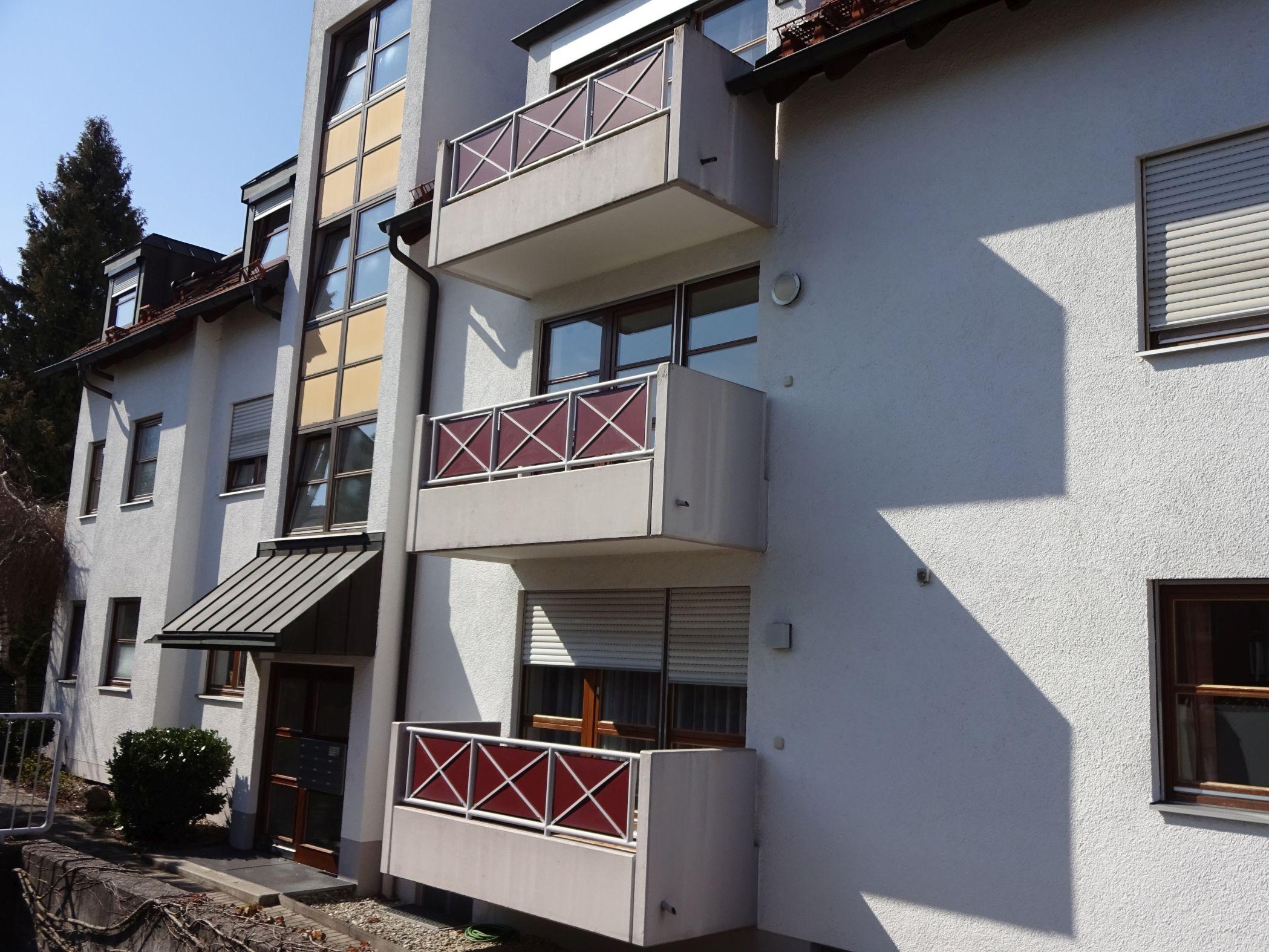 *** Hübsches Single-Appartement mit Balkon in Augsburg-Hochzoll Süd *** in Hochzoll (Augsburg)