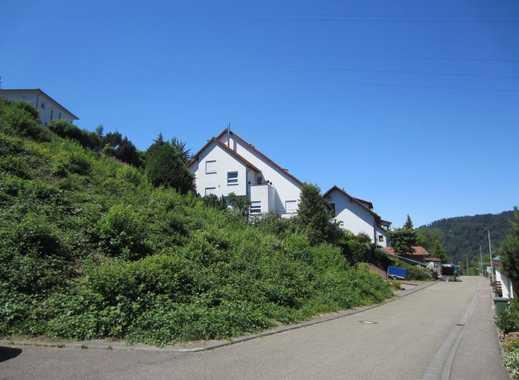 Eberbach, Bauplatz für EFH , DH,  MFH, voll erschlossen, 769qm, Hanglage